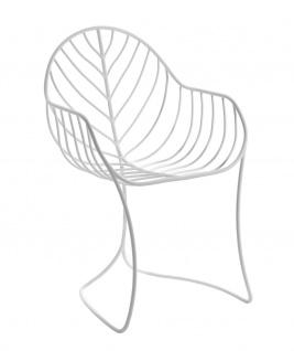 Royal Botania Armlehnstuhl Folia aus Edelstahl beschichtet
