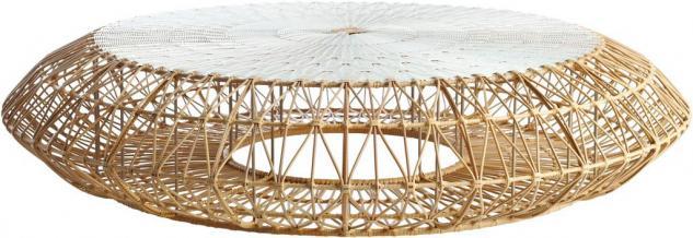 Loungehocker bzw. Loungetisch Dreamcatcher Ø 150 cm von Kenneth Cobonpue