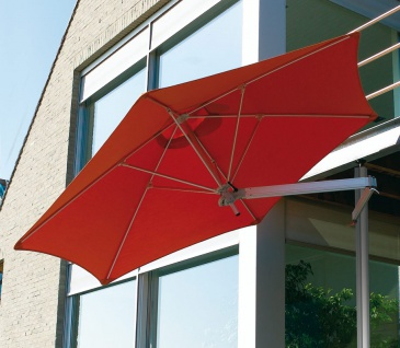 Sonnenschirm Paraflex Monoflex 190 cm, quadratisch von Umbrosa