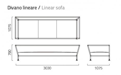 Coro Nest Sofa 303 cm - Vorschau 3