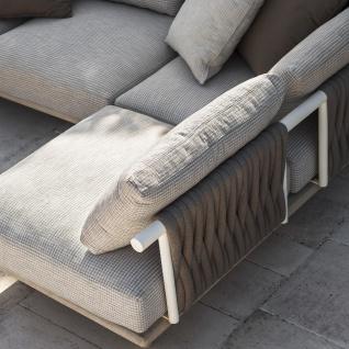 Roda Eden Gartensessel Eckmodul • Loungemodul 001 + 011 • Loungesessel 100 cm - Vorschau 5