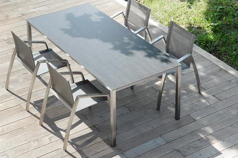Todus Puro Esstisch 100 × 70 cm, HPL oder Keramikplatte - Vorschau 3