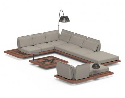 Royal Botania Lounge Set Mozaix 04 Mahagoni inkl. Kissenset Kategorie B