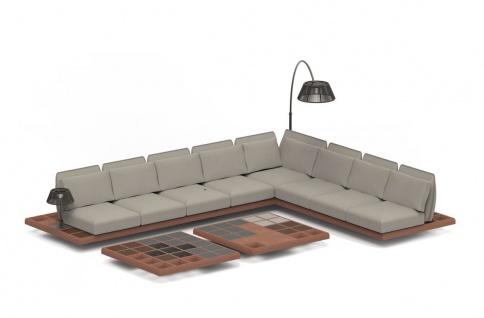 Royal Botania Lounge Set Mozaix 02 Mahagoni inkl. Kissenset Kategorie B