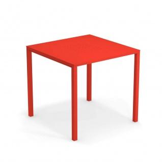 Emu Urban Gartentisch • Outdoor Esstisch 80 cm • Aluminium, beschichtet