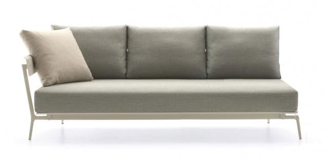 Fast Aikana 3-Sitzer-Sofa mit rechter Armlehne