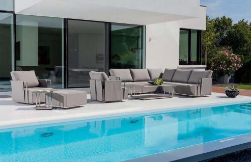 Suite Lounge Sessel 70 x 80 cm mit Hocker von Fischer Möbel - Vorschau 5