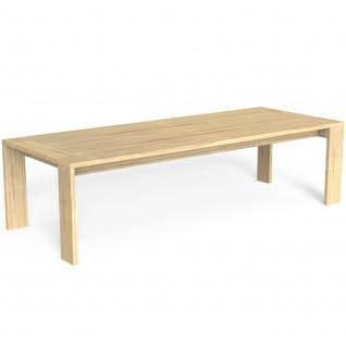 Talenti ARGO Esstisch 280x110cm aus Accoya-Holz