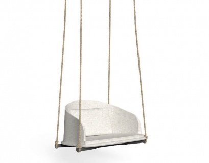 Talenti CLEO Teak Schaukelsessel • Loungesessel 100 cm • inklusive Polster
