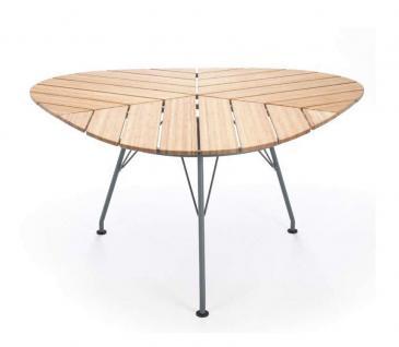 Houe Leaf dreieckiger Gartentisch • Outdoor Esstisch 146 × 146 cm