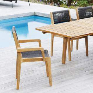 OASIQ SKAGEN ausziehbarer Gartentisch 234-347 × 100 cm - Vorschau 5