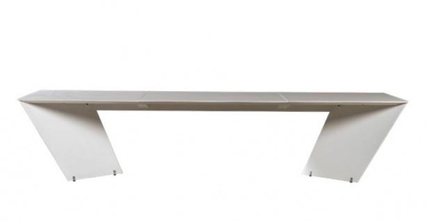 Calma Angle Gartentisch • Esstisch 340 cm mit Dekton Tischplatte