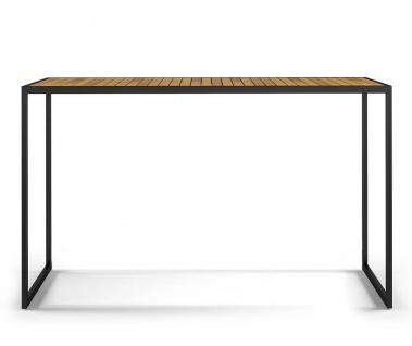 Röshults Open Bistro Bartisch • Gartentisch 150 × 50 cm