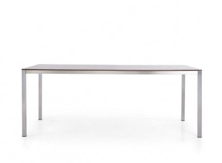 Todus Puro Esstisch 260 × 100 cm, HPL oder Keramikplatte