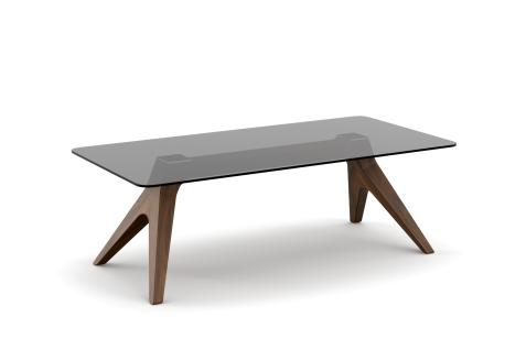 YACHTLINE SWING • Loungetisch 120 cm mit Tischplatte aus Glas