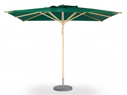 Sonnenschirm Basic von Weishäupl quadratisch 300 x 300 cm