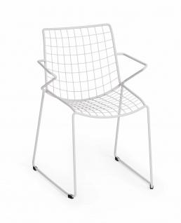 Weishäupl Racket Sessel mit Armehnen, stapelbar - Vorschau 1