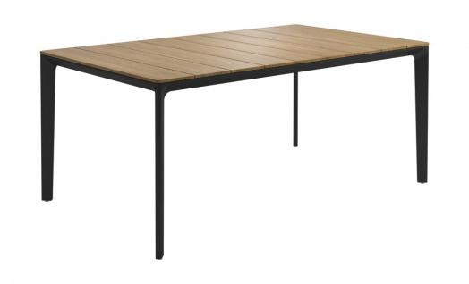 Esstisch Carver von Gloster mit Teakholz Tischplatte, 100 × 170 cm