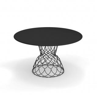 Emu Re-Trouvé Gartentisch • Outdoor Esstisch Ø 130 cm • Stahl, beschichtet