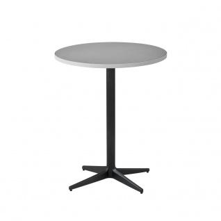 Cane-line Drop Gartentisch mit Aluminium-/Keramikplatte   Bistrotisch Ø 60 cm
