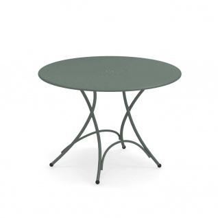 Emu Pigalle Gartentisch • Outdoor Klapptisch Ø 105 cm • Stahl, beschichtet