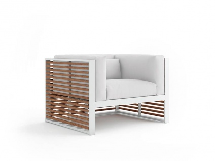DNA Teakholz Loungesessel 105 × 88 cm von GANDIA BLASCO