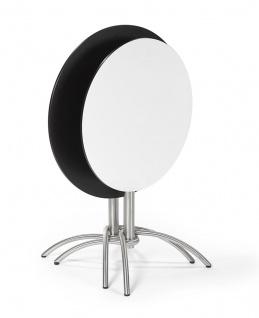 Fischer Möbel Bistrotisch Taku 80 × 80 cm quadratisch, klappbar - Vorschau 4