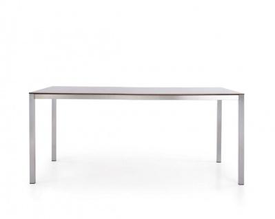 Todus Puro Esstisch 200 × 100 cm, HPL oder Keramikplatte