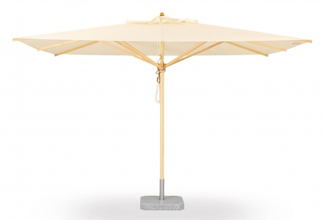 Sonnenschirm Klassiker von Weishäupl rechteckig 260 x 350 cm