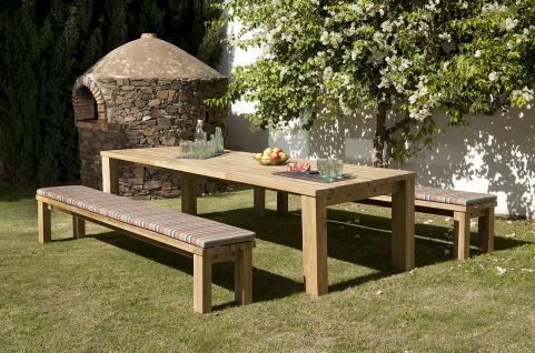 Gartentisch Titan von Barlow Tyrie 100 cm - Vorschau 5