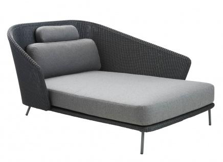 Cane-line Mega Daybed links | Lounge Recamiere 128 cm