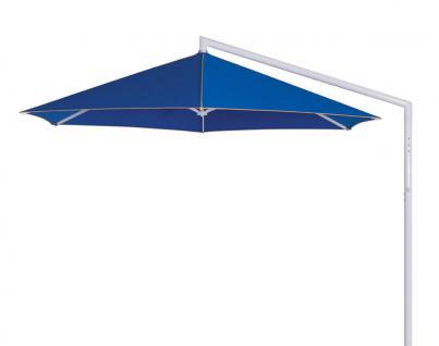 Sonnenschirm Rialto von May, sechseckig 350 cm, Typ RG, mit Volant