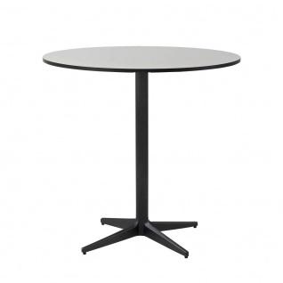 Cane-line Drop Gartentisch mit HPL-Tischplatte   Bistrotisch Ø 75 cm