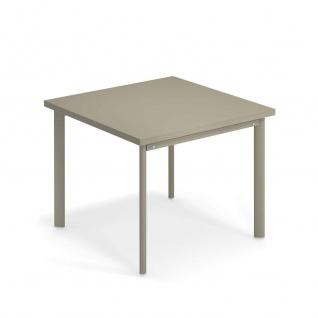 Emu Star Gartentisch • Outdoor Esstisch 90 cm • Stahl, beschichtet
