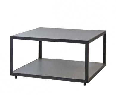 Cane-line Level Loungetisch mit Teak- oder Keramikplatte   Couchtisch 79 cm