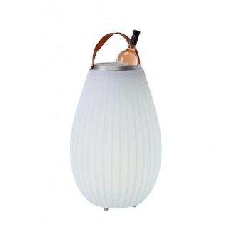 The Joouly® 3in1 - Outdoor-Leuchte, Bluetooth-Lautsprecher & Wine Cooler in einem, Größe 'M' 50 cm, Ø 31/15 cm