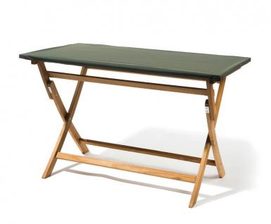 Tischplattenhaube eckig/oval mit Gummizug bis Länge 130 - 220 cm