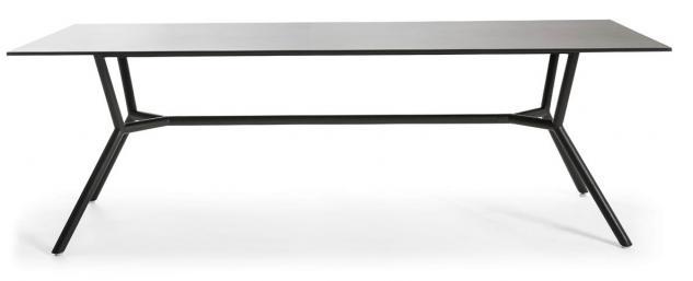 OASIQ REEF Gartentisch 240 x 100 cm • Outdoor Esstisch mit Aluminiumgestell - Vorschau 1