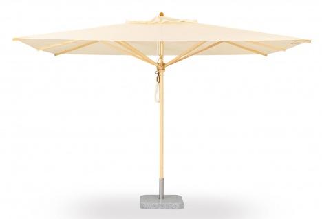 Sonnenschirm Klassiker von Weishäupl quadratisch 350 cm
