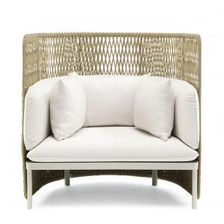 Ethimo Esedra Loungesessel mit hoher Rückenlehne