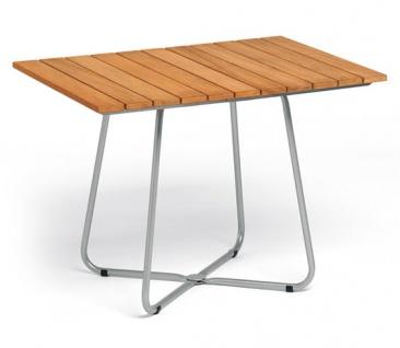 Weishäupl Balcony Klapptisch 100 x 70 cm • Teakholz oder HPL-Tischplatte