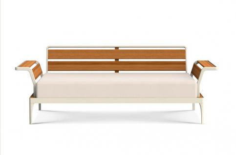 Ethimo Meridien Lounge Sofa 3-Sitzer