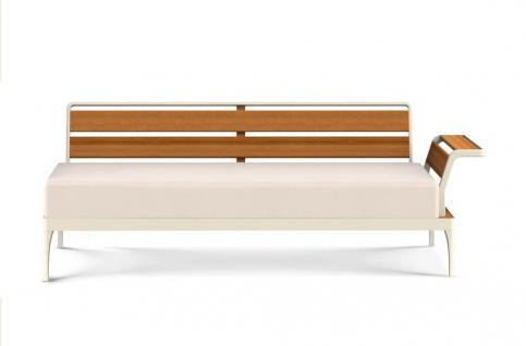 Ethimo Meridien Lounge Eckmodul XL links mit Armlehne