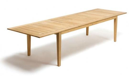 Ethimo Ribot Gartentisch 235-340 cm, ausziehbar