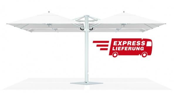 Tuuci Bay Master Fiberflex Shade Pod / Express 245 × 245 cm, 2 - 4 Schirme