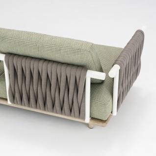 Roda Eden Gartensessel Eckmodul • Loungemodul 001 + 011 • Loungesessel 100 cm - Vorschau 2