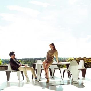 Vondom F3 Gartenstuhl, stapelbar 53 × 61 cm - Vorschau 2