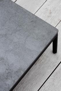 OASIQ RIAD Beistelltisch mit Kearmik Tischplatte 74 × 74 cm - Vorschau 5