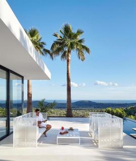 Dna Gartentisch 129 × 100 Cm Von Gandia Blasco - Vorschau 4