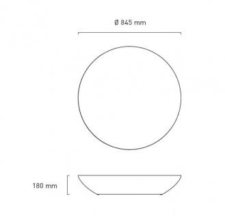 Moree Beistelltisch Lounge Variation Outdoor H18 cm - Vorschau 2
